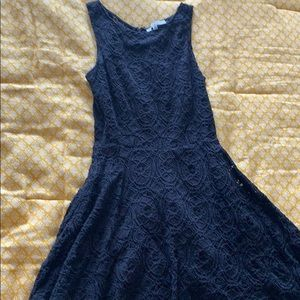 bb dakota black lace dress size 4